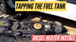 Sprinter diesel tank on the ground